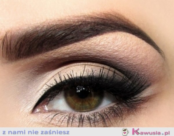 Makeup w barwach jesieni