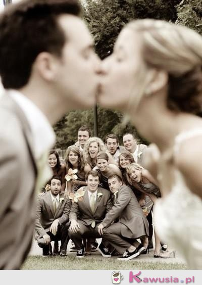 Świetny pomysł na zdjęcie weselne