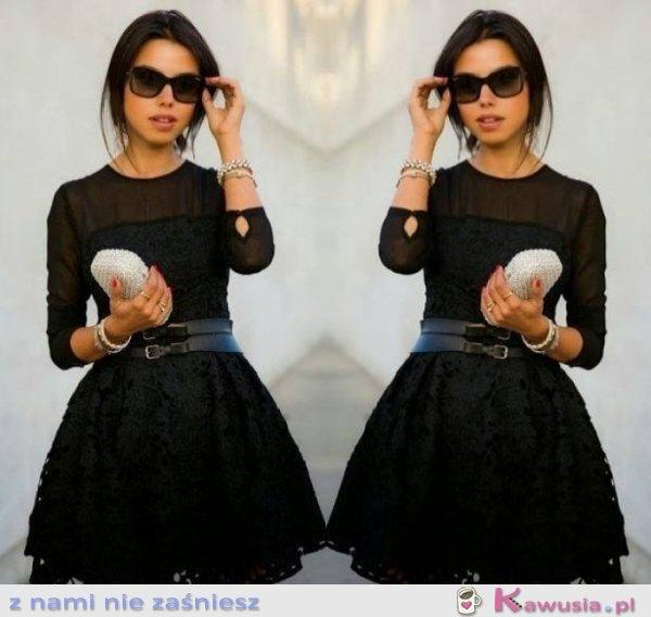 Cudna czarna sukienka