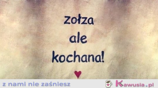 Zo�za ale...