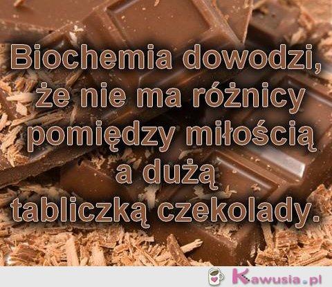 Biochemia dowodzi