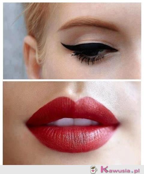 Piękny make up