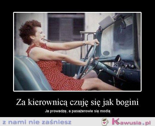 Za kierownicą