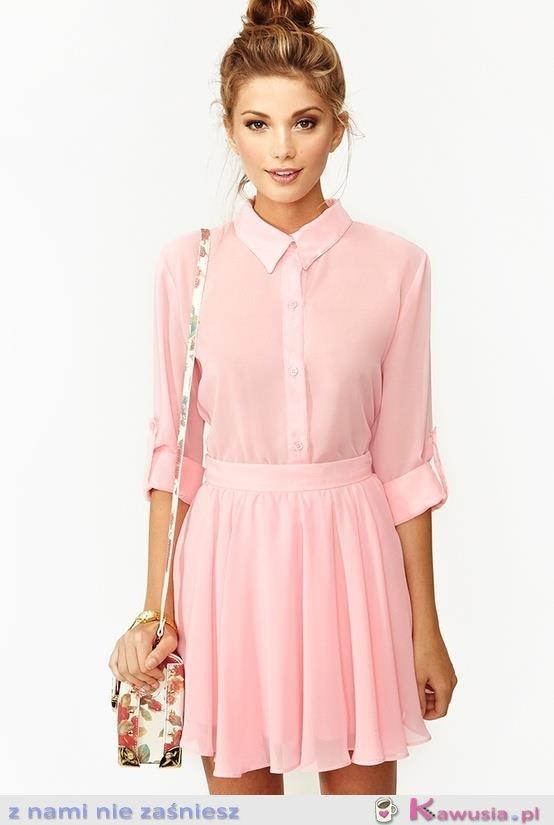 Słodka, delikatna sukienka