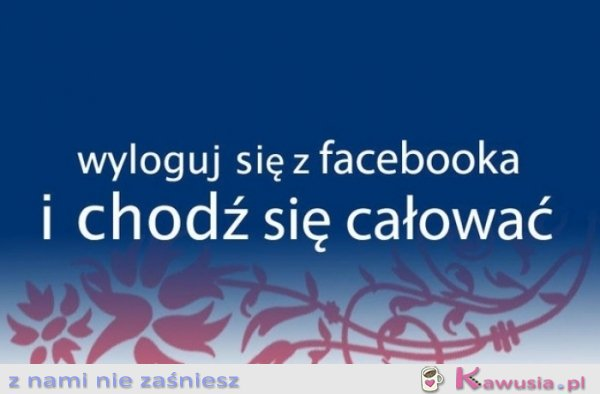 Wyloguj si� z facebooka