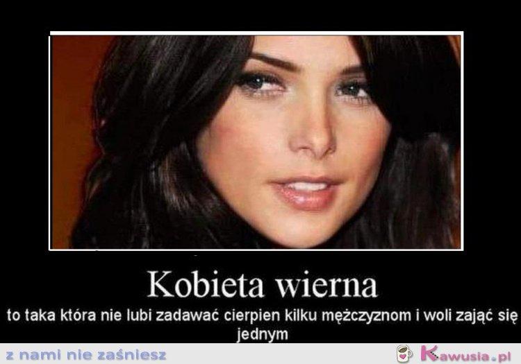 Wierna kobieta...
