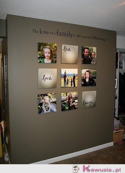 Fajny pomysł na zdjęcia w domu