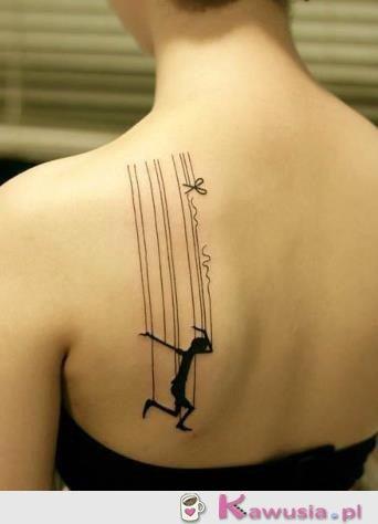 Tatuaż marionetka