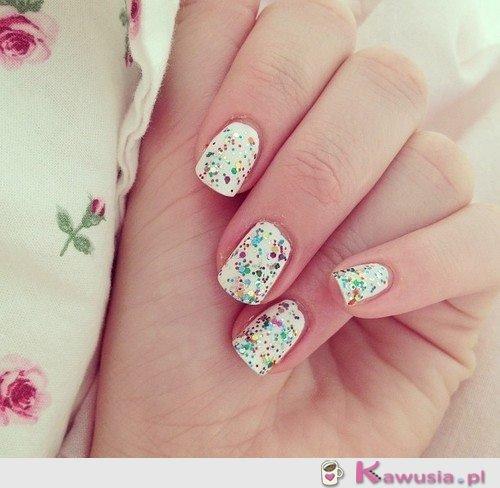 Fajne paznokcie
