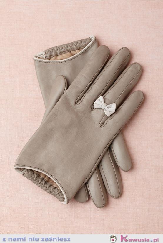 Kobiece rękawiczki