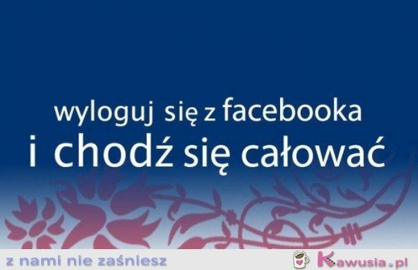 Wyloguj się z facebooka