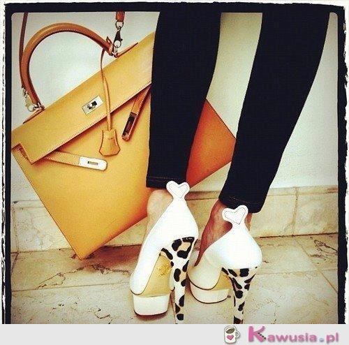 Świetne buciki i torebka