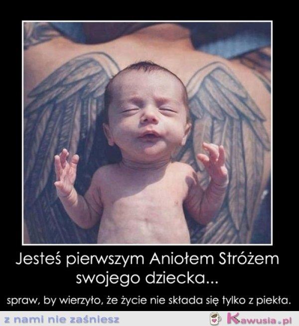 Jesteś Aniołem Stróżem
