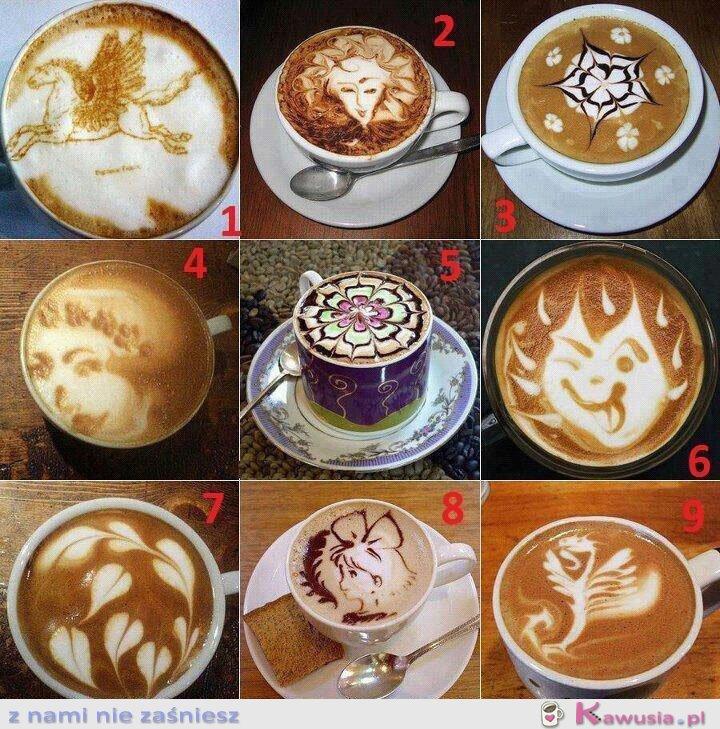 9 obliczy porannej kawusi :)