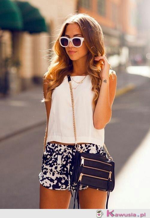 Letnia stylizacja black'n'white