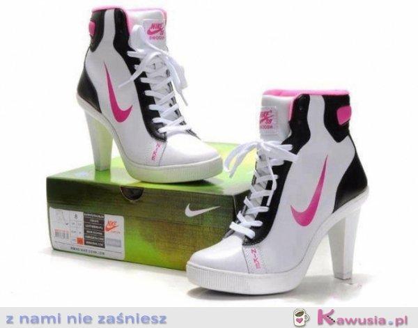 check out 602a6 7f030 Nike na obcasie - Kawusia.pl - z nami nie zaśniesz