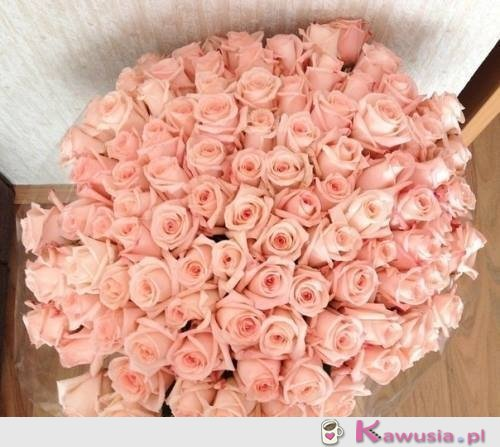 Piękny bukiet róż!