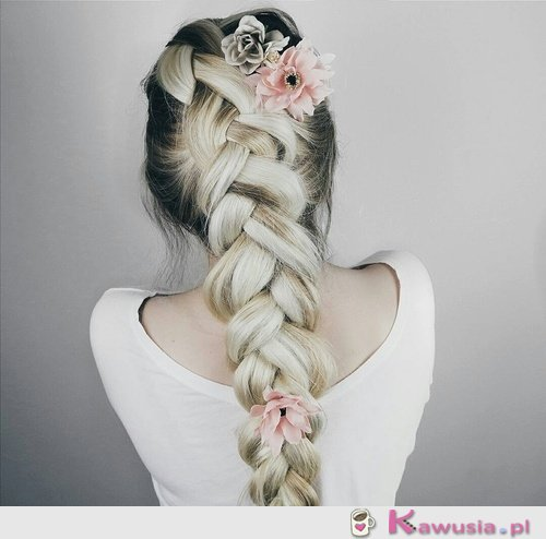 Piękna fryzura