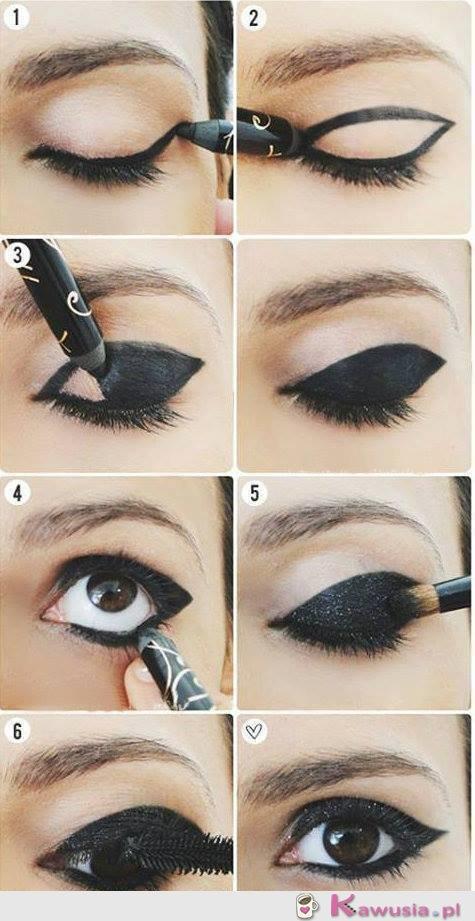Rewelacyjnie pomalowane oczy