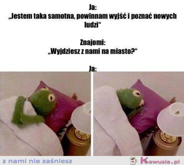 JESTEM TAKA SAMOTNA