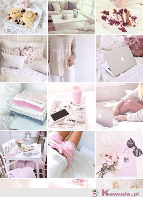 Inspiracja dnia: biel i pudrowy róż
