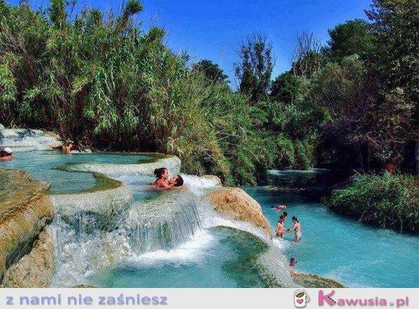 Naturalne Jacuzzi - Włochy