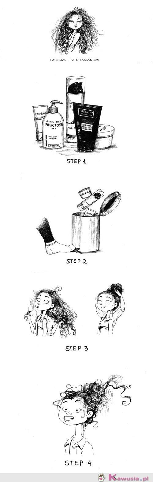 Poradnik jak ujarzmić włosy