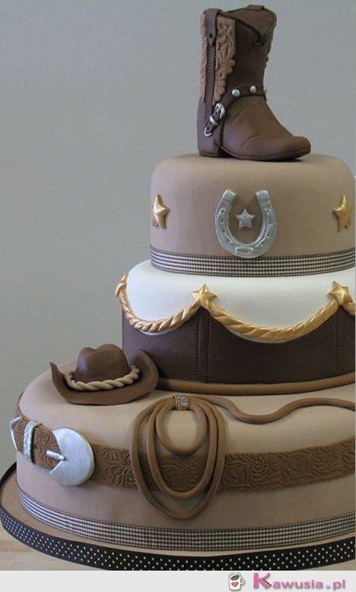 Tort kowboja