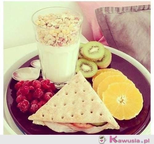Przepyszne śniadanko!
