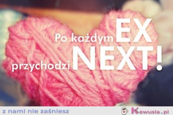 Po każdym EX przychodzi NEXT