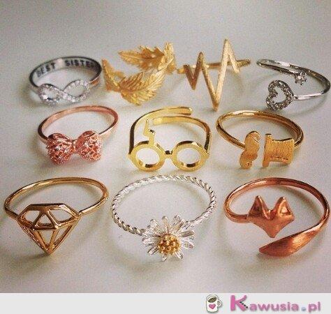 Cudne pierścionki