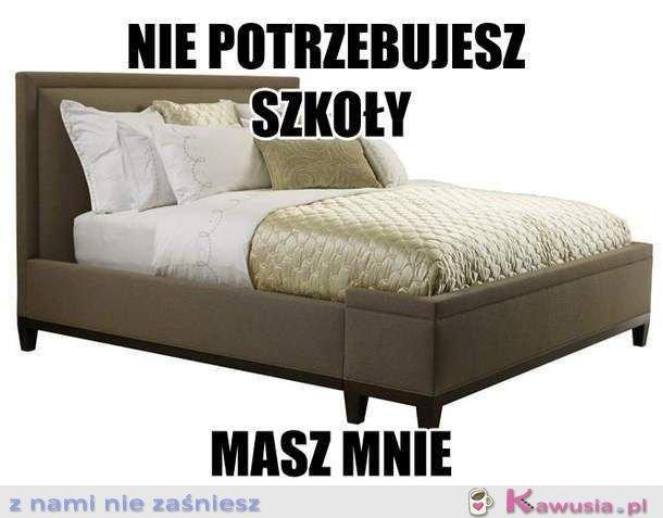 Idealny związek? Ja i moje łóżko!