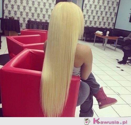 Jakie włosy!