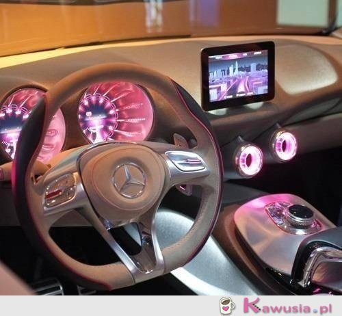 Niesamowite wnętrze Mercedesa