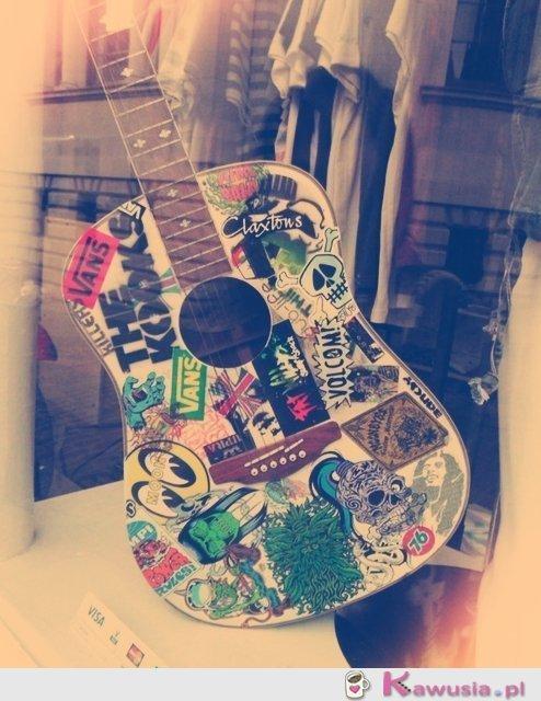 Świetna gitara