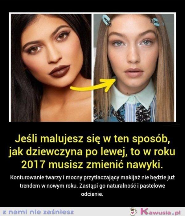 Czas na zmianę makijażu