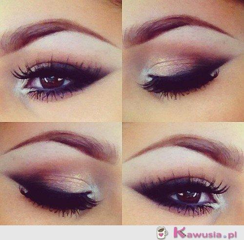 Śliczny makijaż