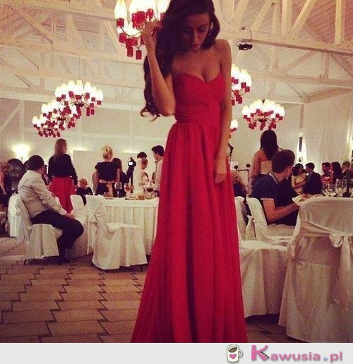 Piękna, elegancka czerwień