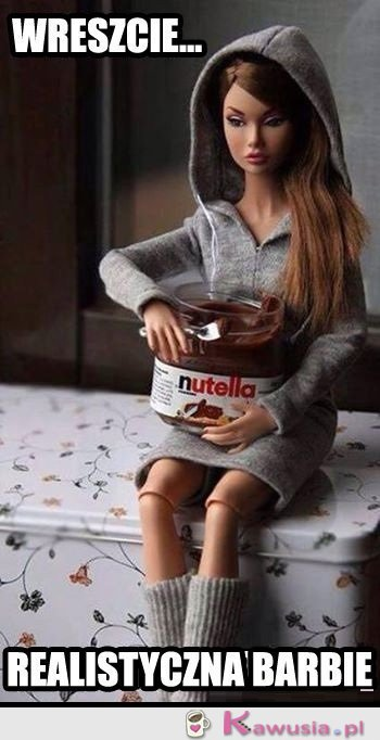 Realistyczna Barbie