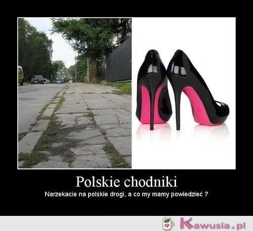 Polskie chodniki