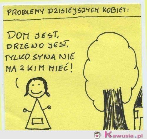 Problemy dzisiejszych kobiet