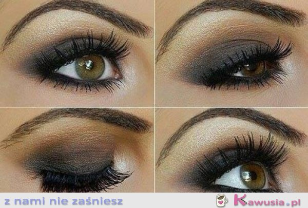 śliczny make up