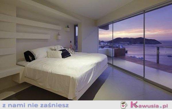 Sypialnia z niesamowitym widokiem