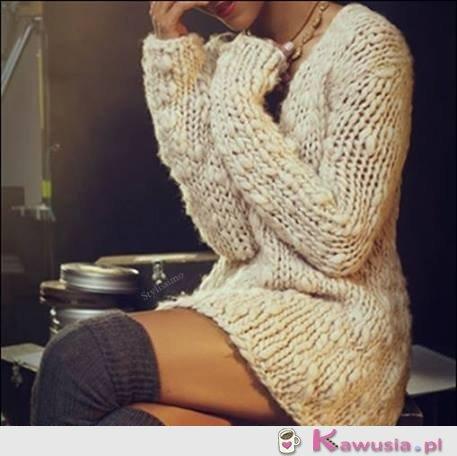 Boski sweter