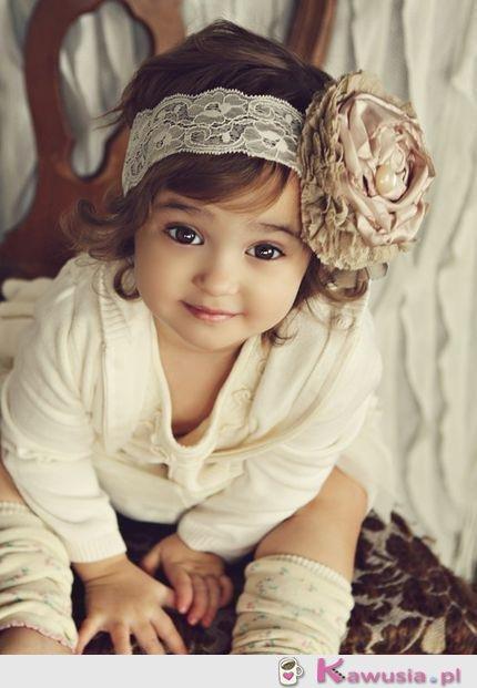 Tak będzie wyglądać moja córeczka <3