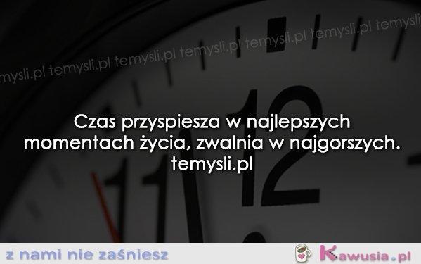 Czas przyspiesza...