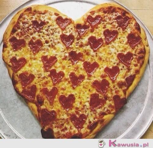 Pizza serduszko