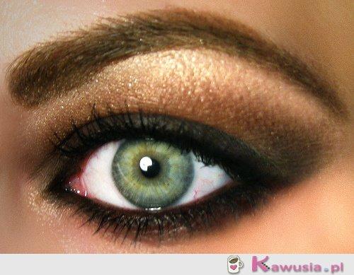 Pięknie wykonany makijaż