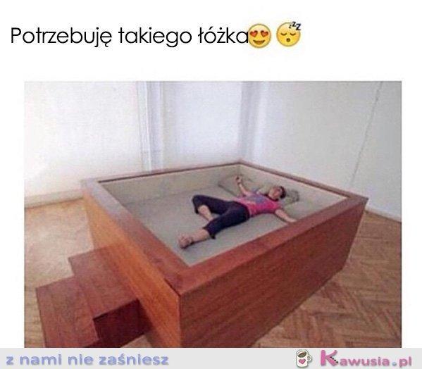 Potrzebuję takie łóżko