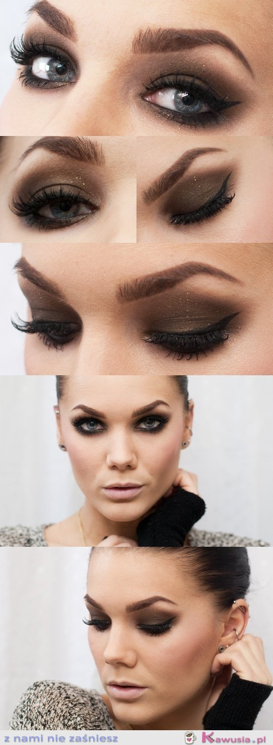 Piękny make up